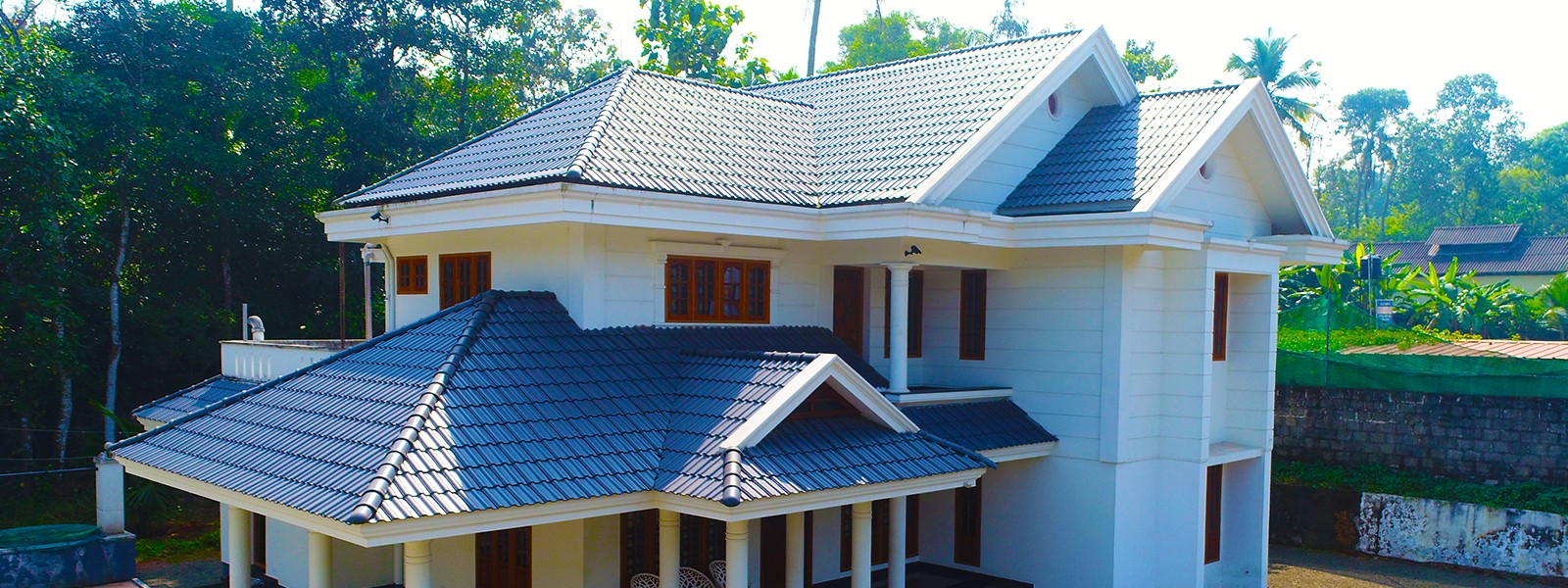 Ceramic roof tiles kottayam kerala,india | Pali roofs kottayam